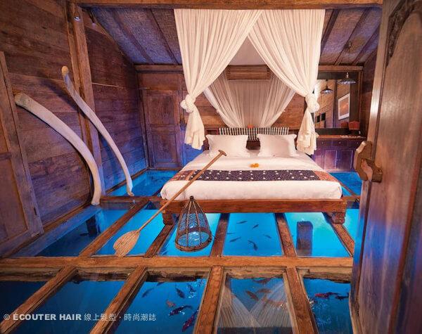 【旅遊】 睡在魚池之上,峇厘島生態度假旅館